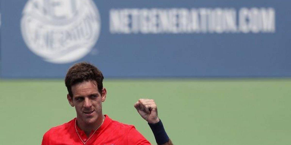 Del Potro encabeza pelotón latinoamericano en el US Open