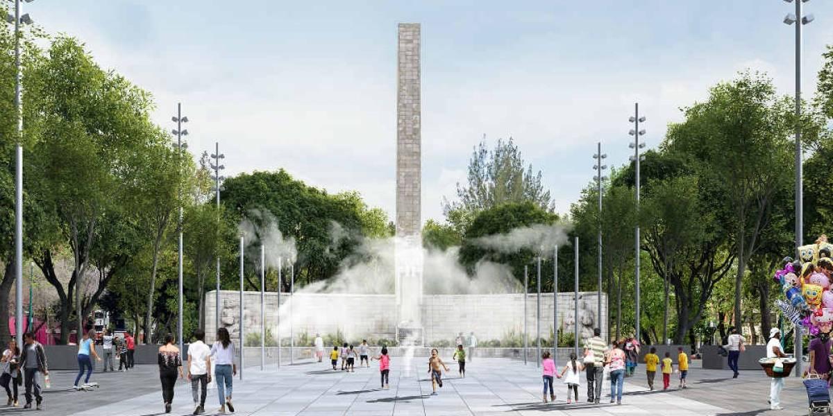 Renovación del Monumento a la Madre, en 85%
