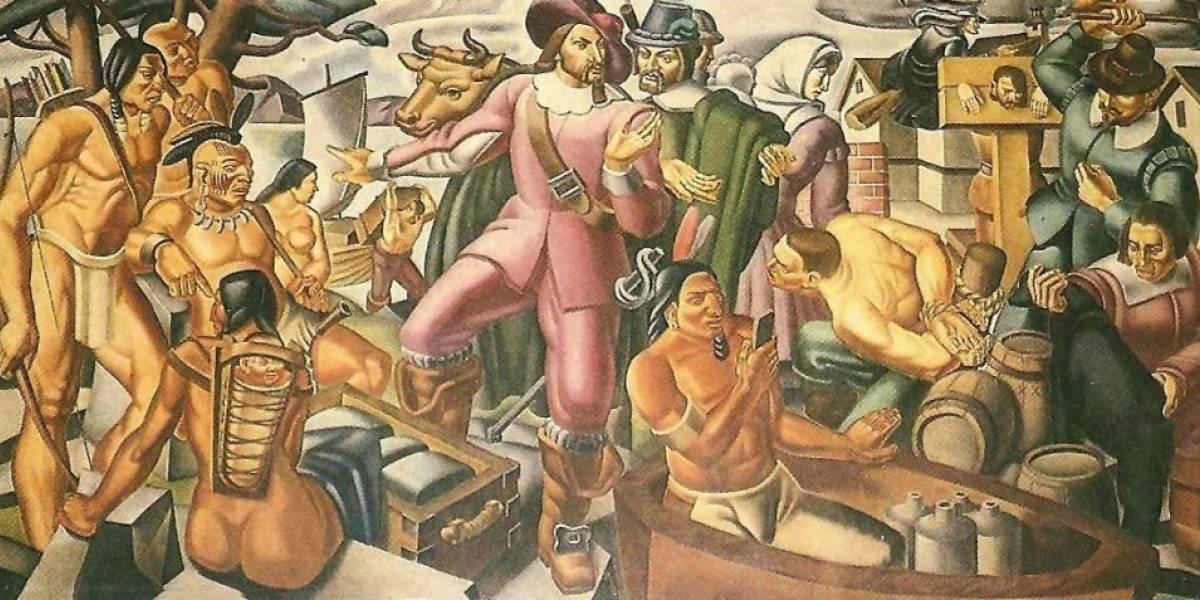 El misterioso iPhone en una pintura de 1937