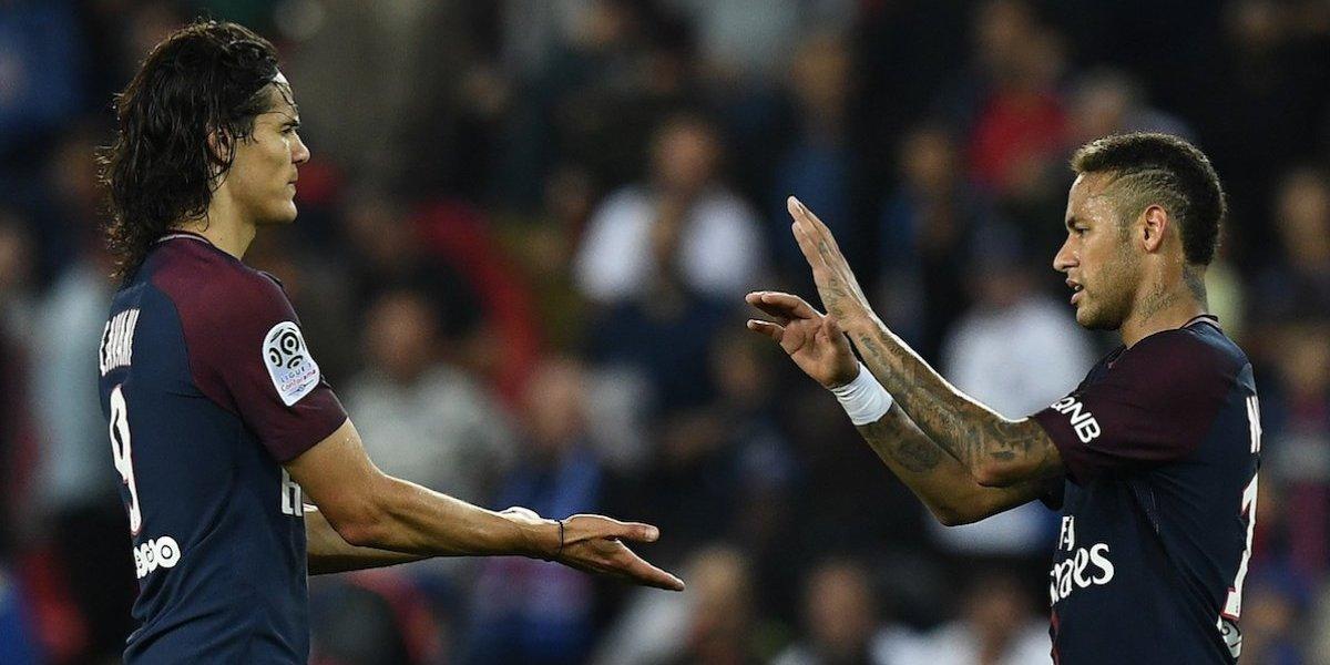 VIDEO. Parece que Neymar extraña a Messi, más, luego del incidente con Cavani