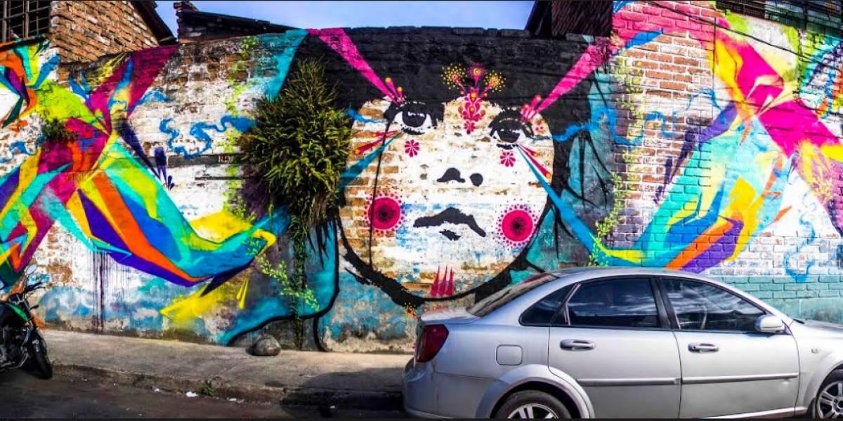 Grafiteros y muralistas se tomaron las paredes del Centro de Medellín