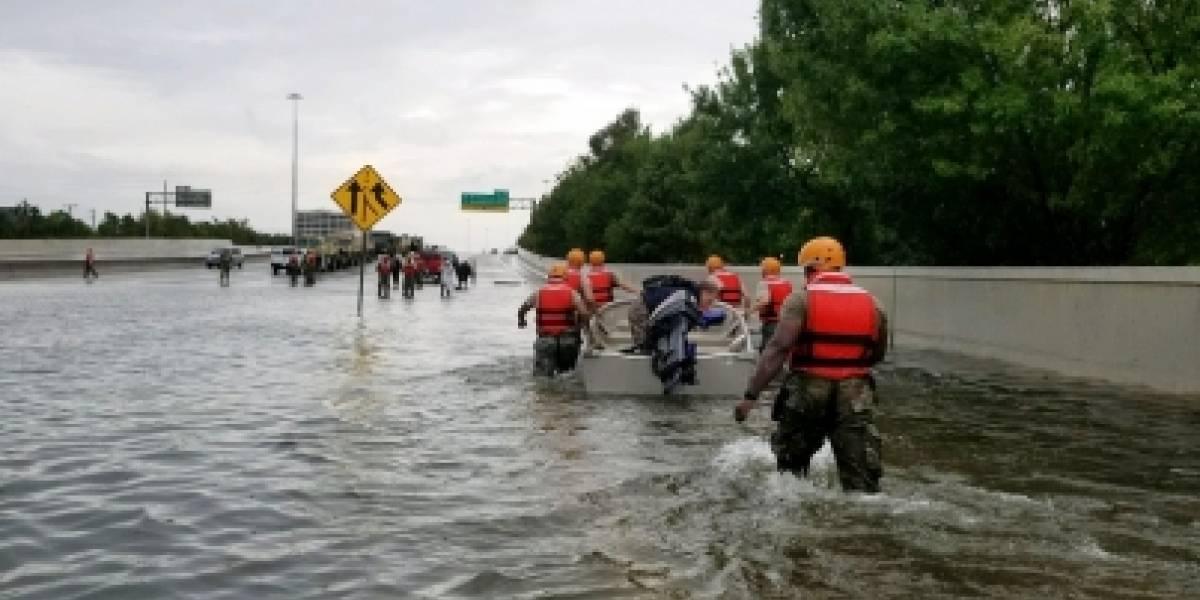 Autoridades estadounidenses alertan por 'inundaciones catastróficas' en el estado de Texas