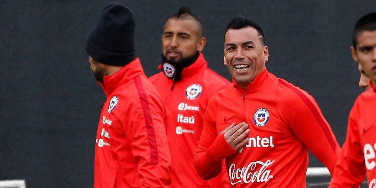 La Roja inició la misión Paraguay con Jara y Osvaldo al margen