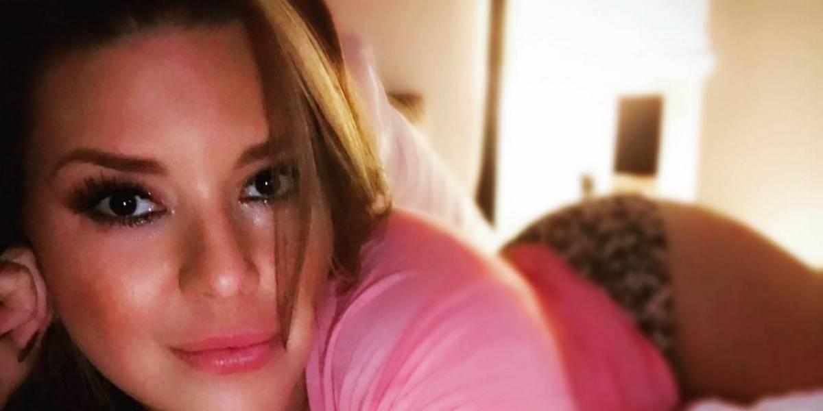 Alicia Machado de nuevo en la polémica por su aumento de peso