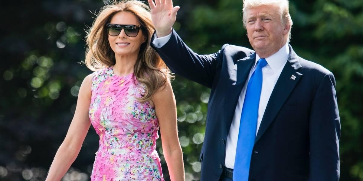 Trump y Melania viajarán mañana al sur de Texas tras Harvey