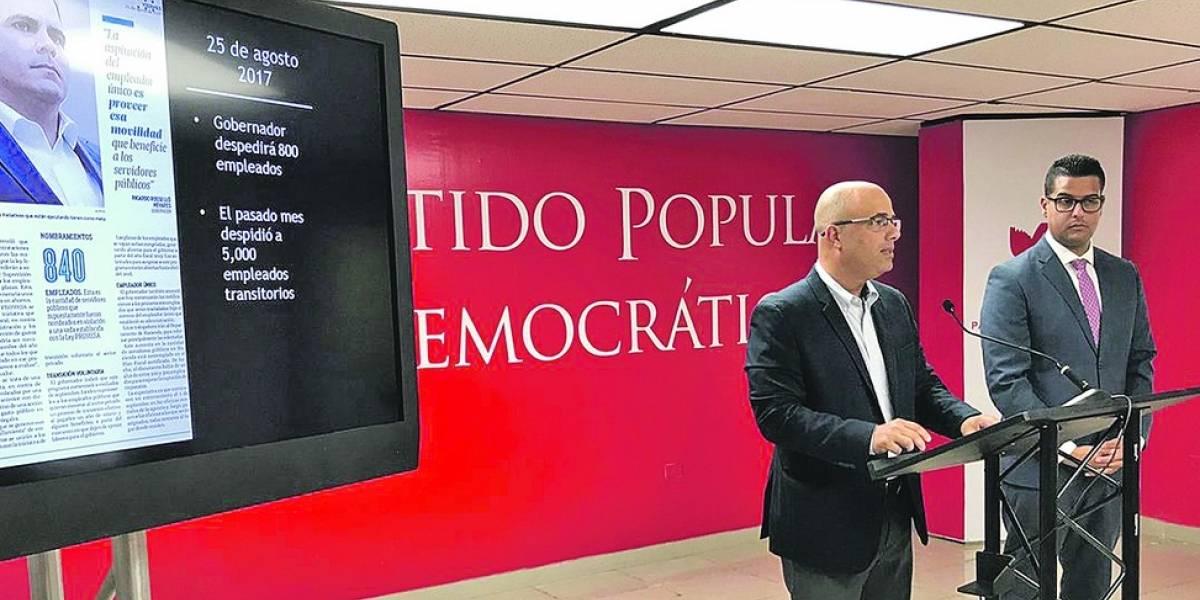 PPD dice defenderá a los empleados públicos
