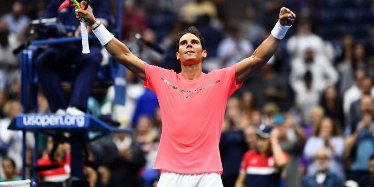 Nadal le ganó a la lluvia y a Lajovic en su debut en el US Open