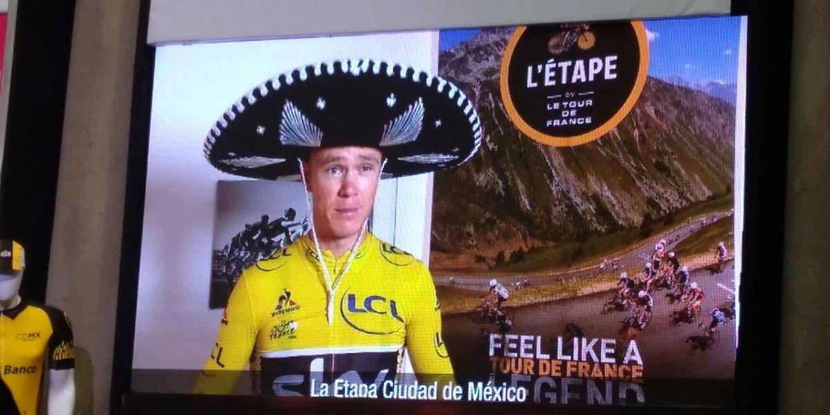 Chris Froome estará en La Etapa CDMX 2017 del Tour de Francia