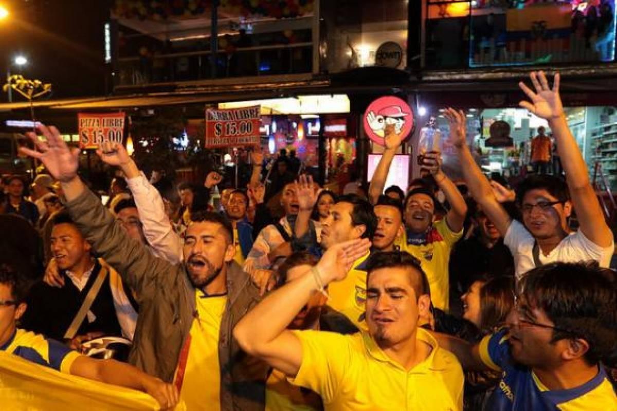 seleccion ecuador brasil mundial bares entretenimiento