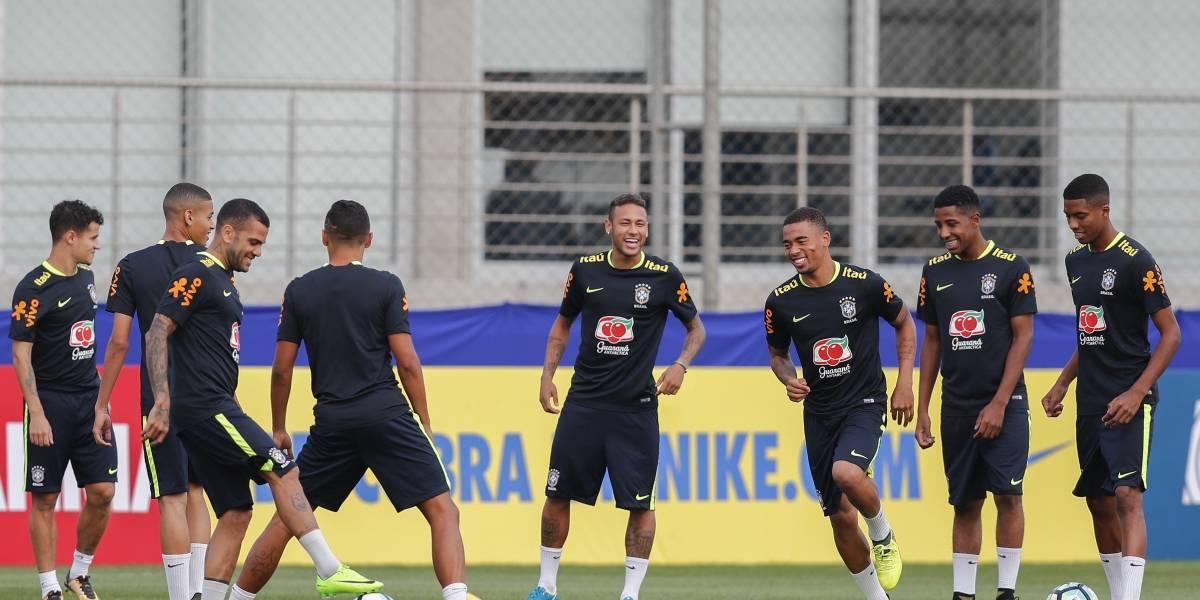 Así se divierte Brasil antes de recibir a Ecuador