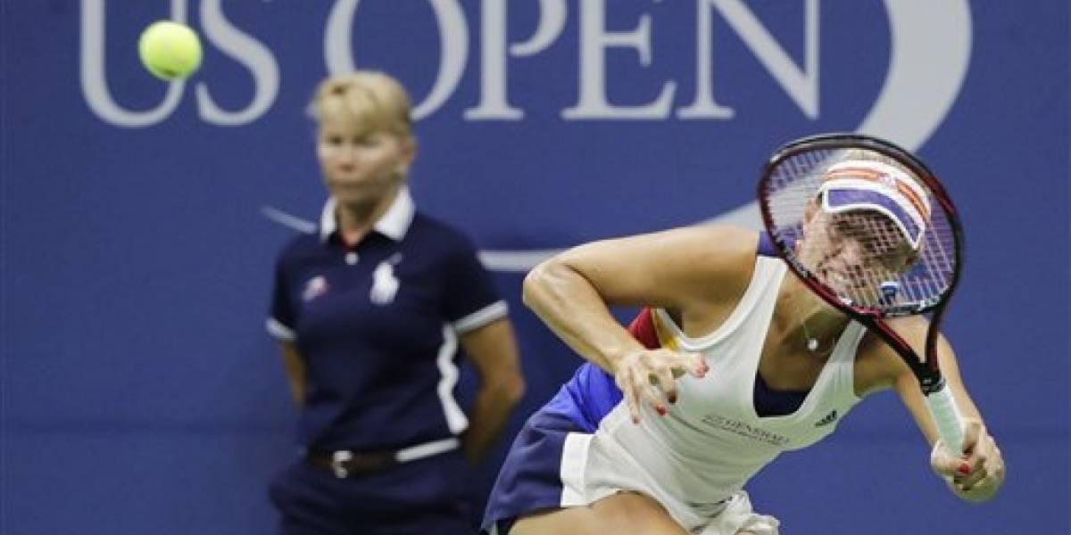 Angelique Kerber queda fuera en primera ronda del US Open