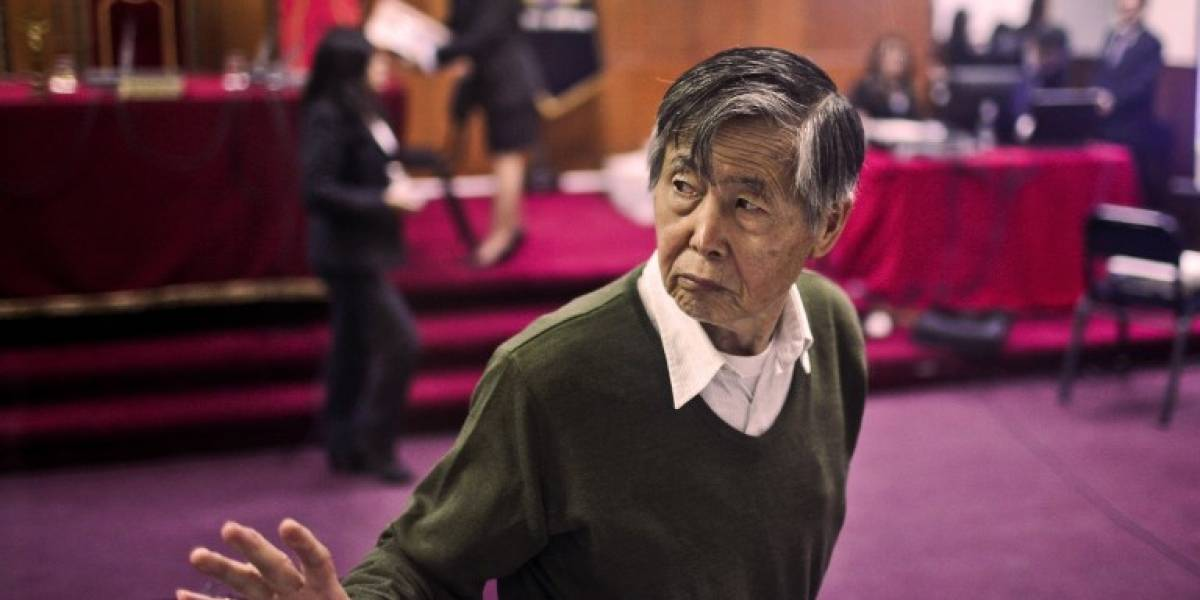 Alberto Fujimori, hospitalizado de emergencia por mal cardiaco