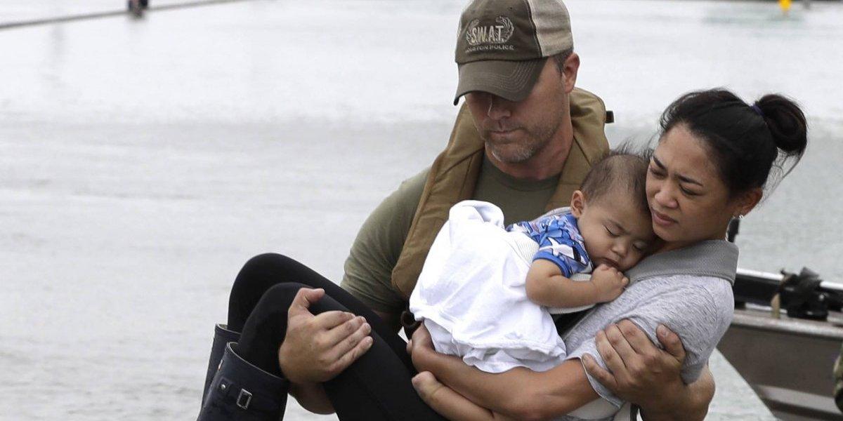 La historia de la foto más viral tras la destrucción de 'Harvey' en Texas