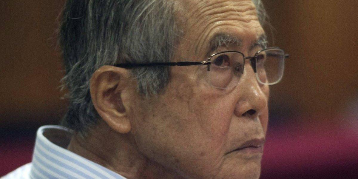 Ex presidente Alberto Fujimori es internado por problemas cardiacos