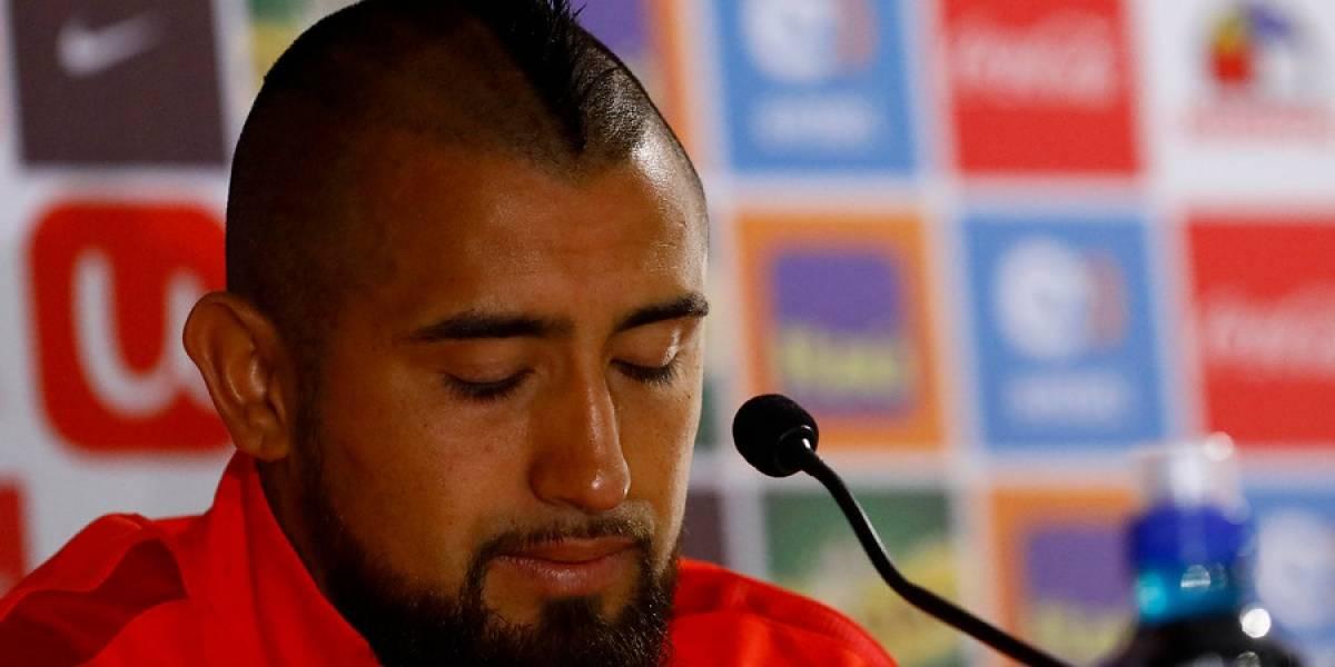 """Arturo Vidal: """"No puedo hacerme responsable de los actos de mis amigos"""""""