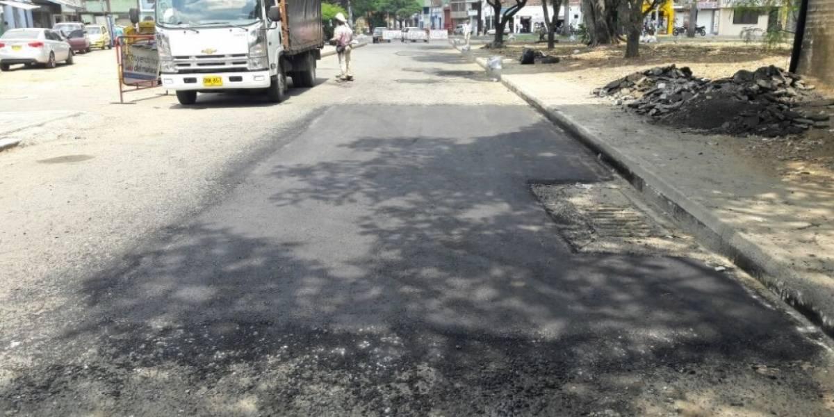 Calles de Cali, renovadas tras un mes de 'Bachetón'