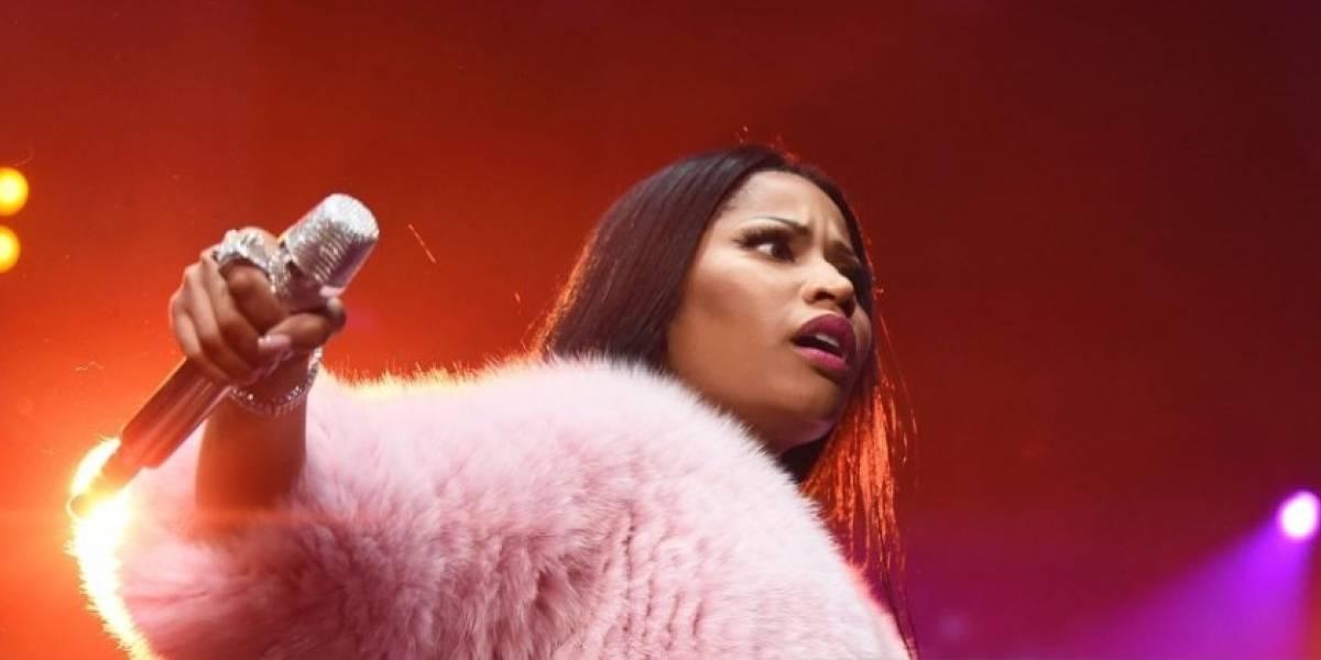 Nicki Minaj dejó poco a la imaginación por su atuendo