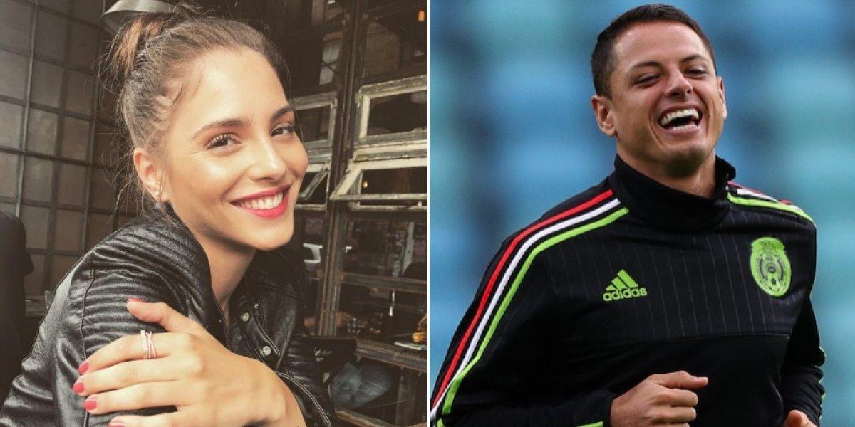 Chicharito y Andrea Duro ya viven juntos en Londres
