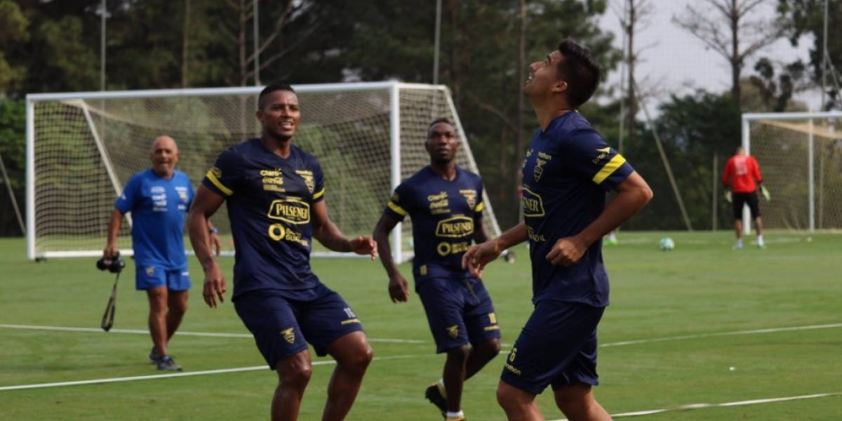 La Tri se entrena con ayuda de un dron previo al duelo ante Brasil