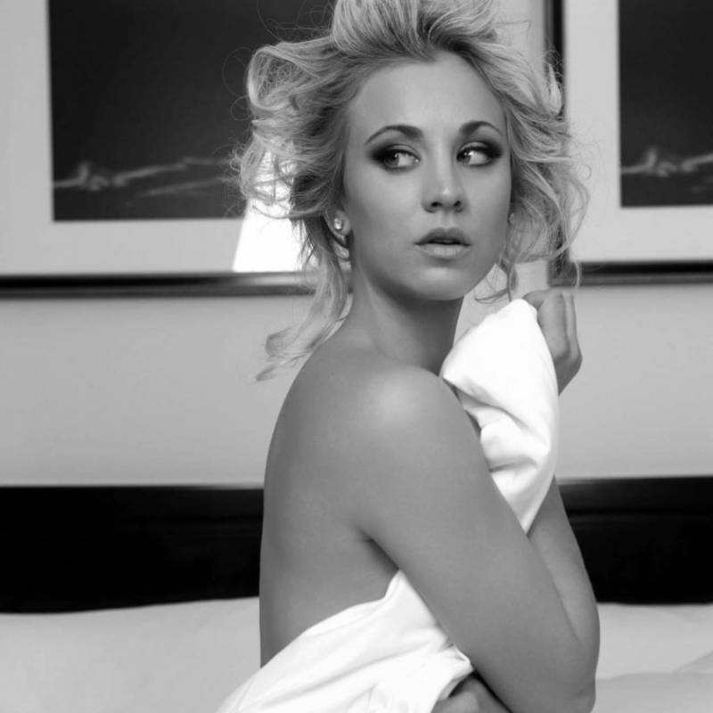The Big Bang Theory: filtran foto íntima de actriz Kaley Cuoco