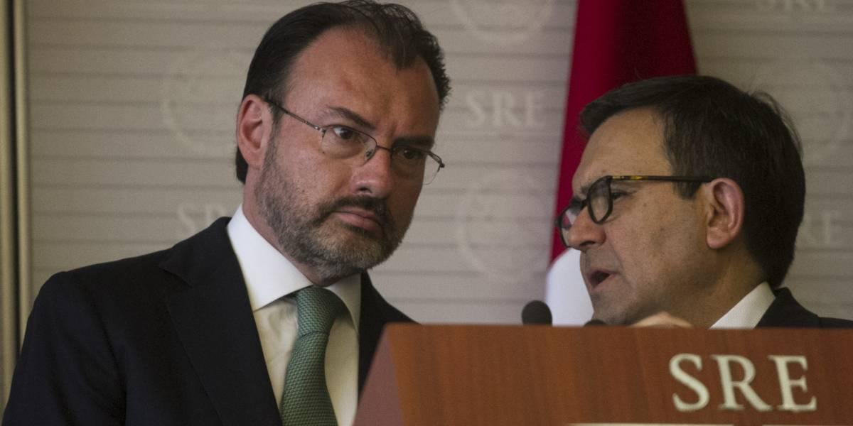 Previo a segunda ronda del TLCAN, Luis Videgaray viajará a EU