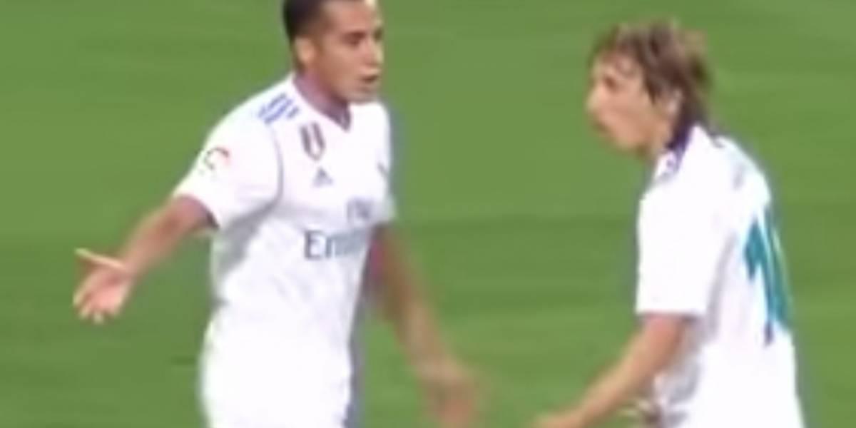 VIDEO. La discusión entre jugadores del Madrid que no se vio en la TV