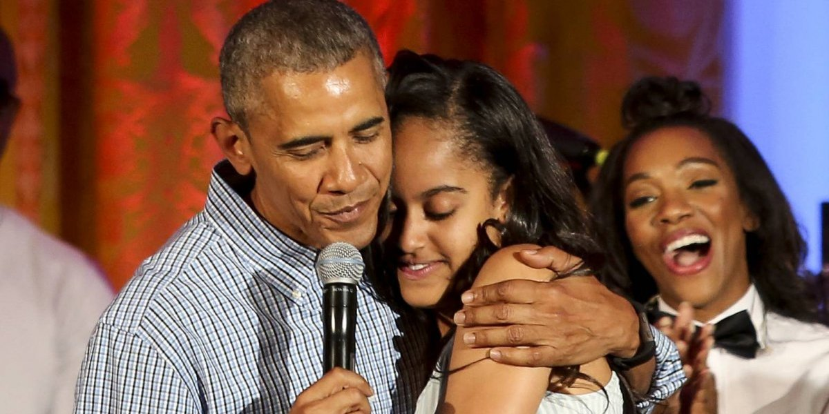 ¿Me vas a fotografiar como si fuera un animal?: hija de Obama despotrica contra fan
