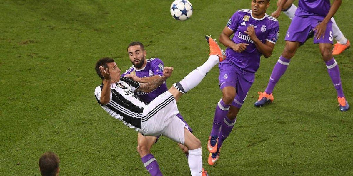 Gol de Mandzukic en la final de Champions es elegido como el mejor del año