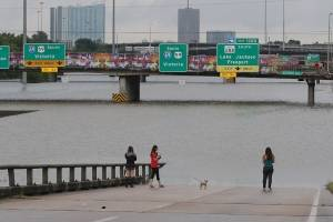 Inundaciones en Houston