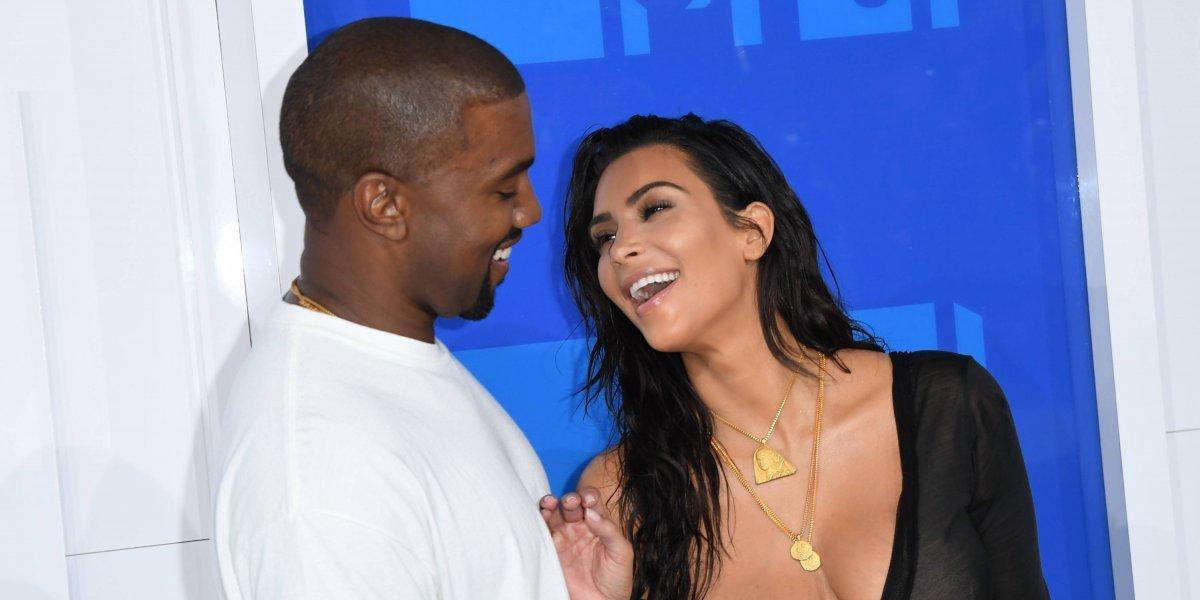 Captan por primera vez a la mujer embarazada del hijo de Kim Kardashian