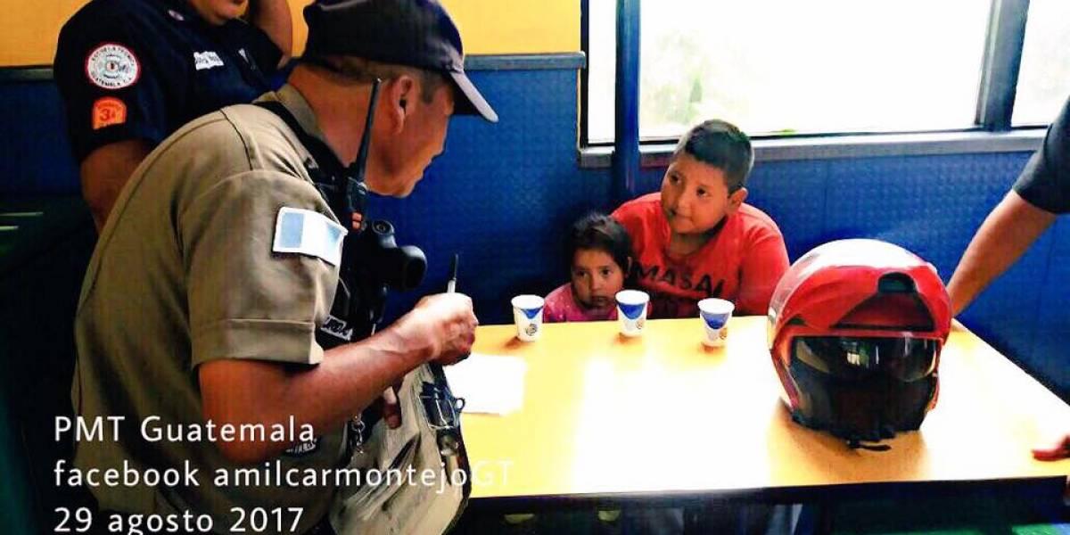 Buscan apoyo para identificar a niños que fueron abandonados en restaurante