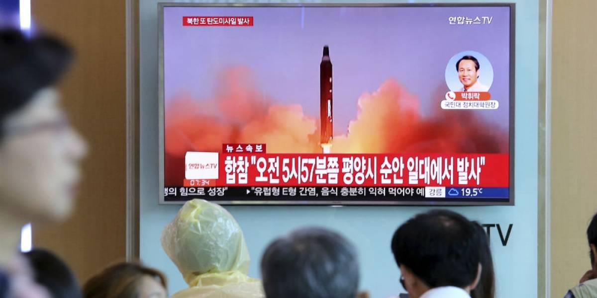 Norcorea confirma lanzamiento de misil sobre Japón