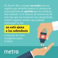 Epidemia: adicción a opioides