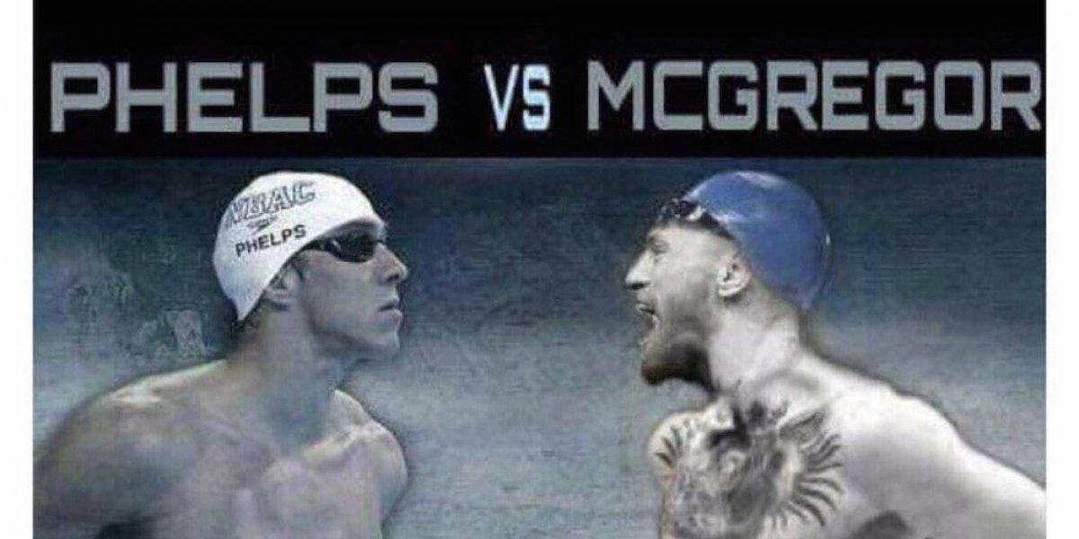 Michael Phelps lanza reto de natación a Conor McGregor