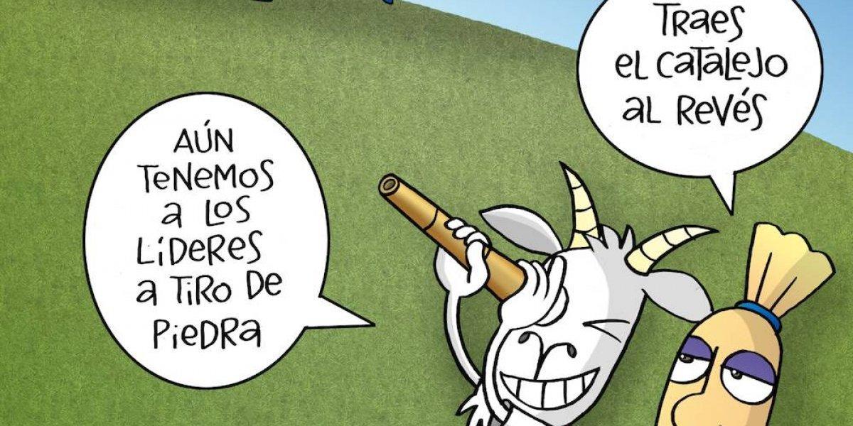 A Chivas se le escapan los lideres; el cartón del día