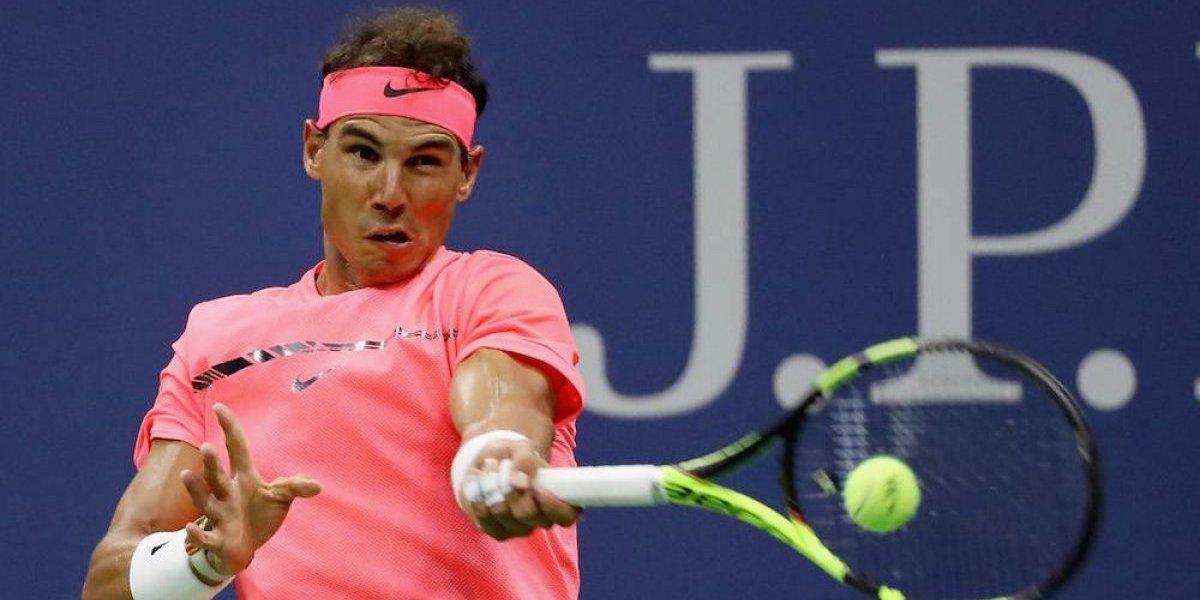 Rafael Nadal avanza fácil a segunda ronda del US Open