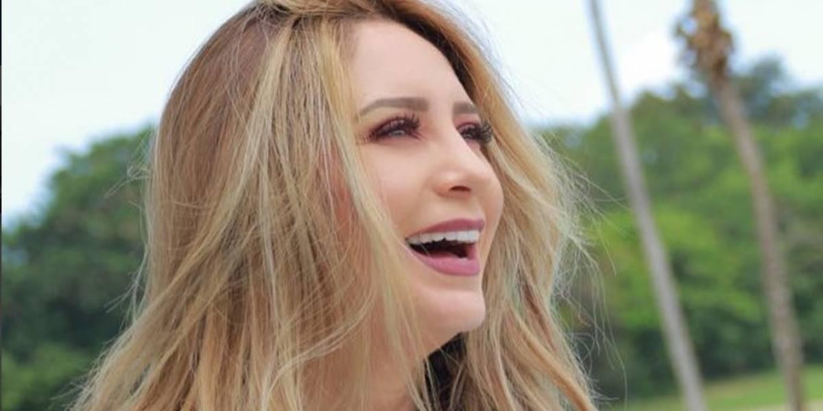 Geraldine Bazán comparte imagen sin maquillaje y sus fans reaccionan