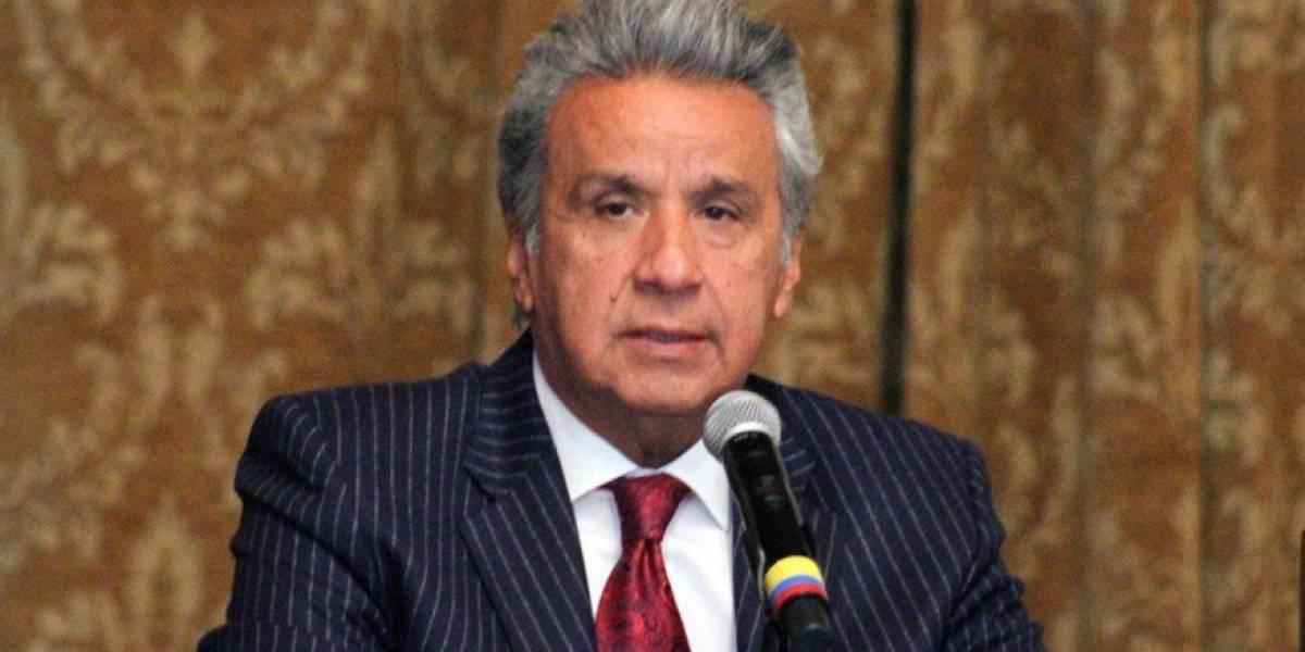 Presidente Lenín Moreno registra 76, 5 % de aprobación a su gestión