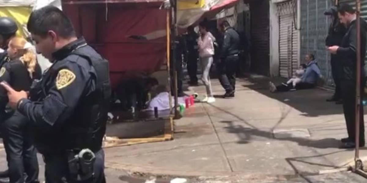Asesinan a joven de 16 años en el barrio de Tepito