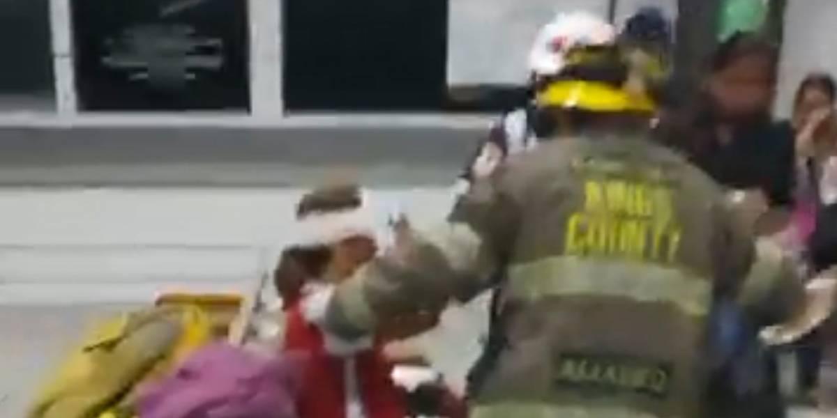 Una persona muerta dejó explosión de autobús en Córdoba