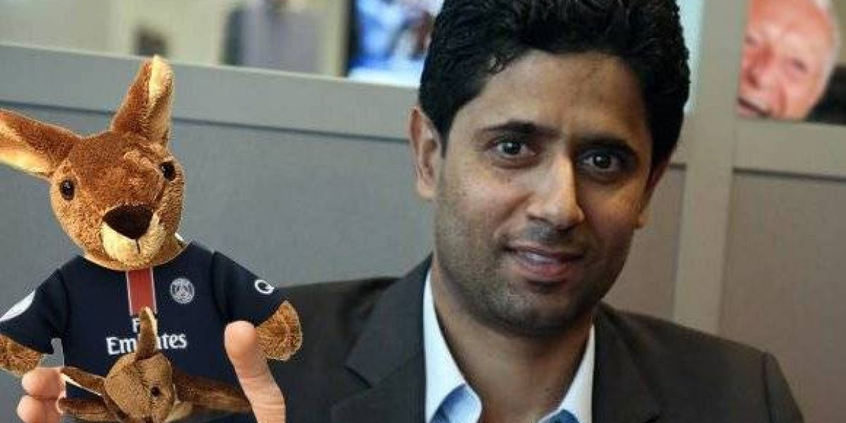 Con un canguro tocándose la parte baja se burlan de presidente del PSG