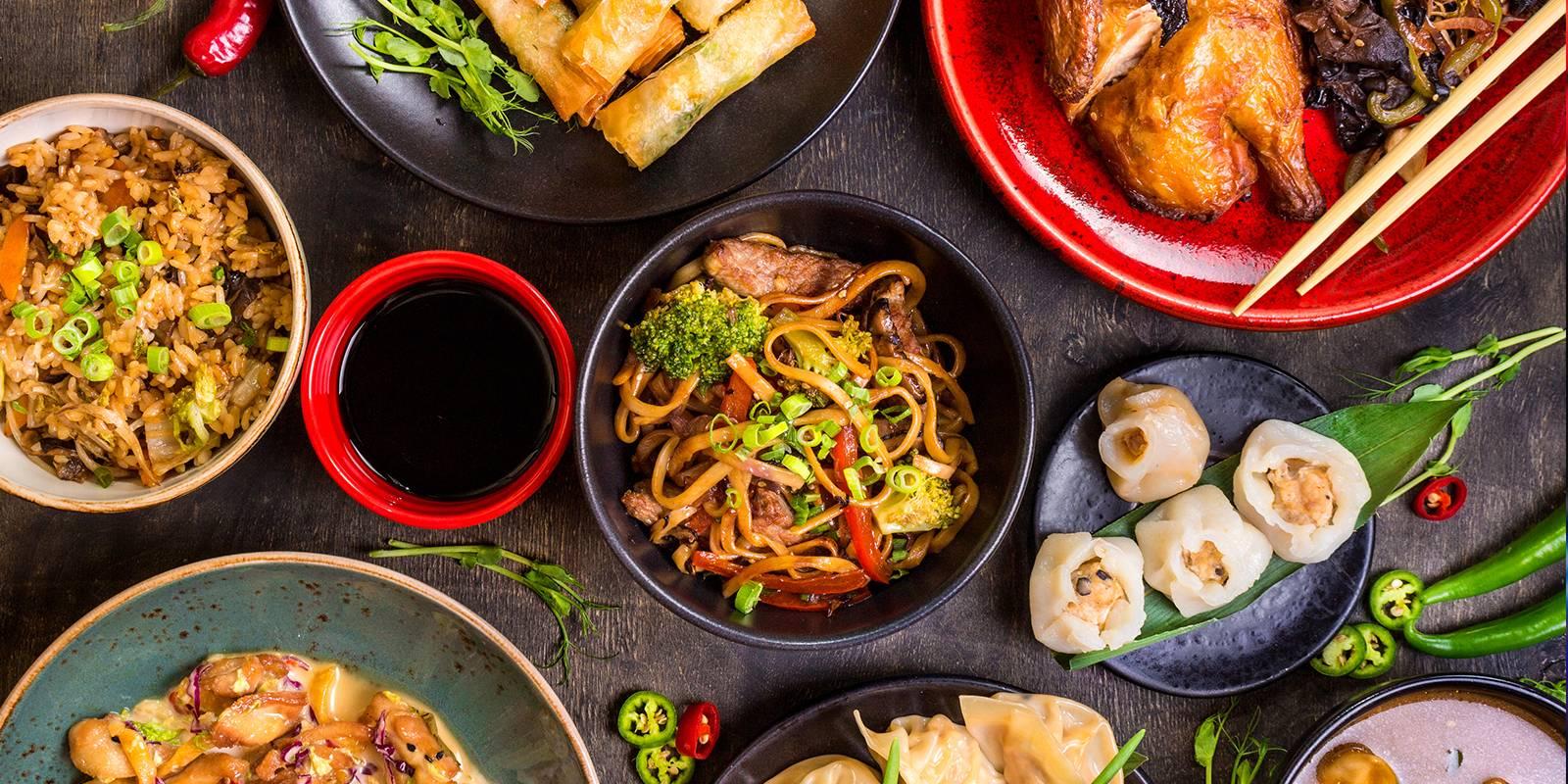 comida asiática, turismo