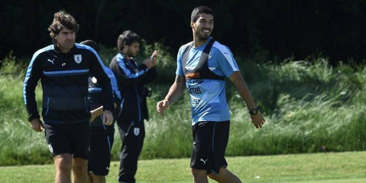 Atento Sampaoli: Suárez supera sus problemas y será titular en Uruguay