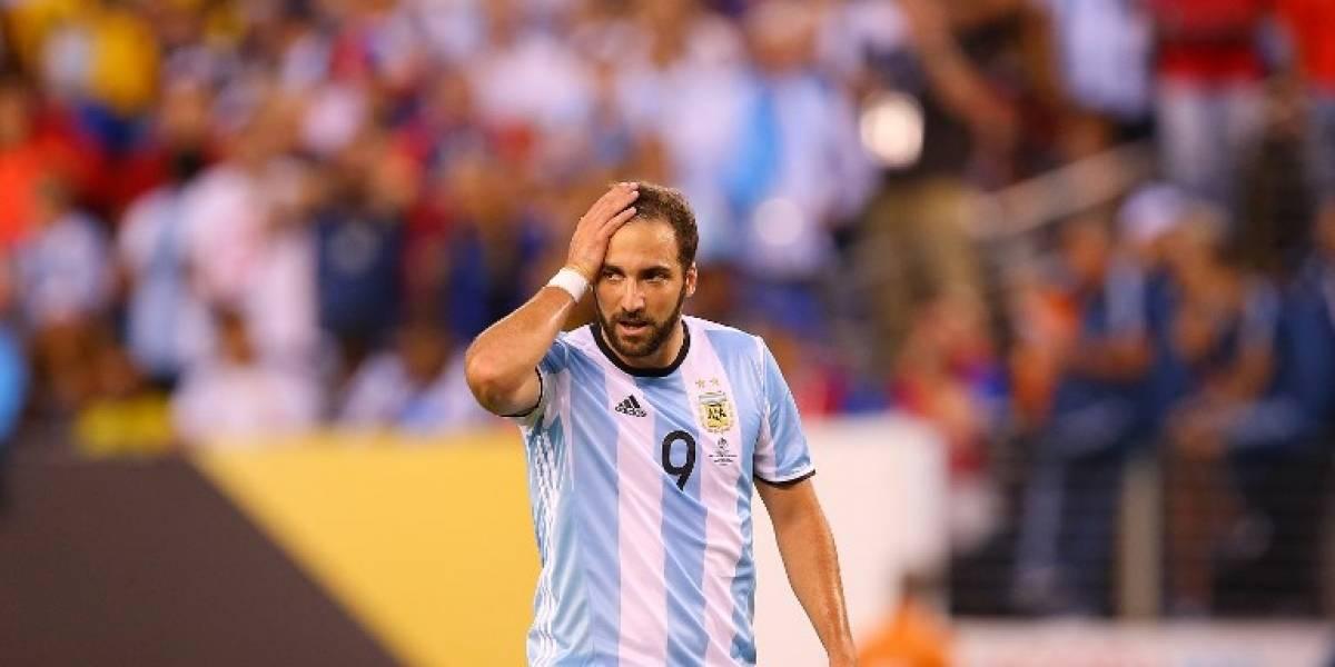 """Higuaín con todo: """"El que no me quiere se la tendrá que aguantar, voy a seguir jugando"""""""