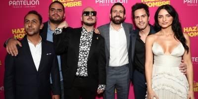 """Así fue la premier de """"Hazlo como Hombre"""" en Los Ángeles"""