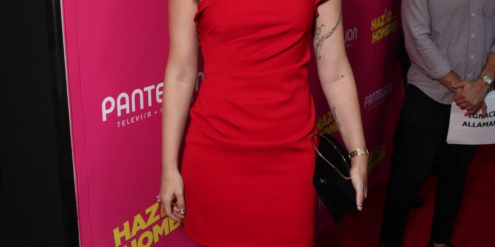 La actriz chilena Ignacia Allamand. Cortesía