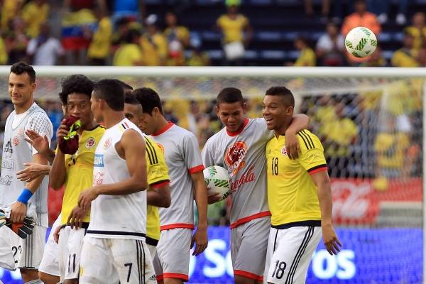 Ver Venezuela vs Colombia en Vivo