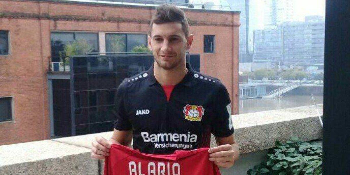 River Plate explota por partida de Alario al Leverkusen de Aránguiz