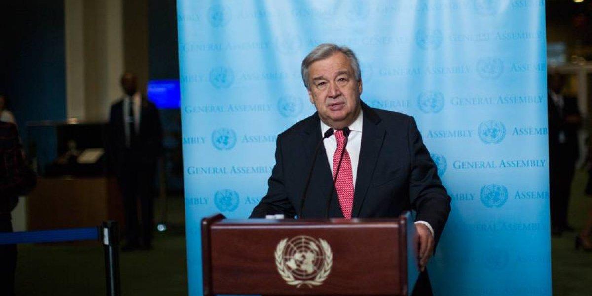 """António Guterres: """"Nunca hubo una solicitud para que lo destituyera"""""""