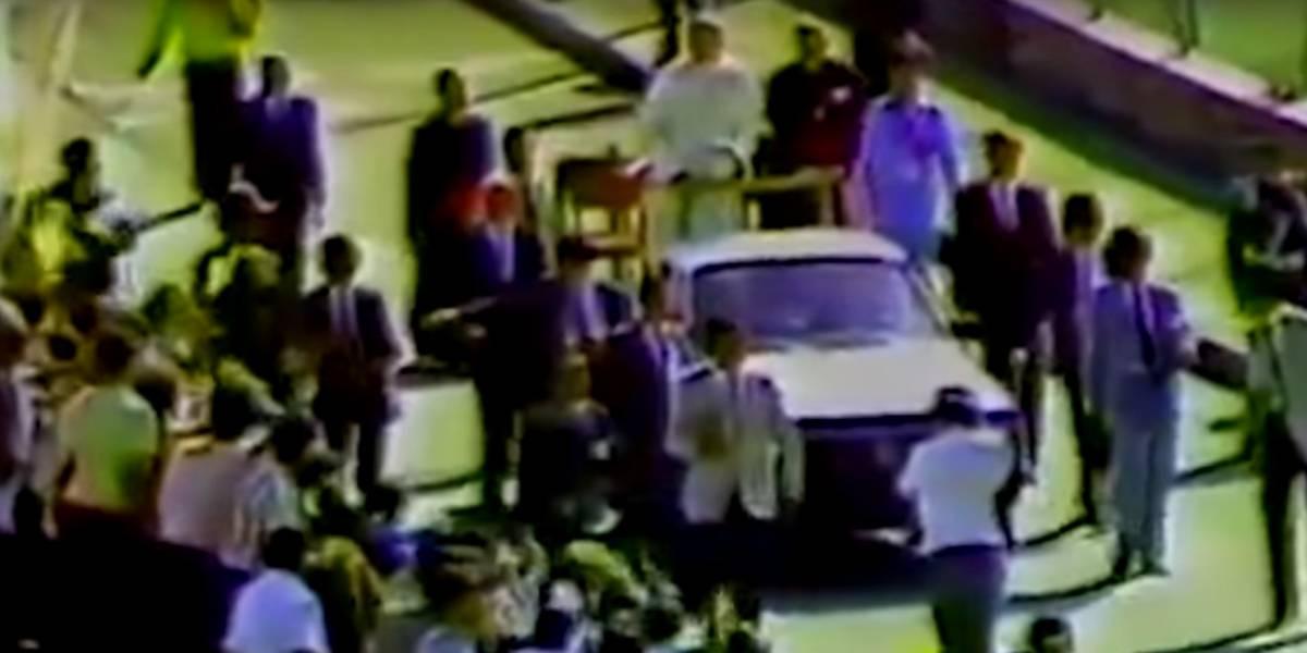 El papamóvil de Juan Pablo II estaría siendo usado para trasteos